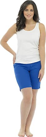 Tom Franks Womens/Ladies Summer Linen Blend Shorts With Pockets & Draw String, Various Colours & Sizes