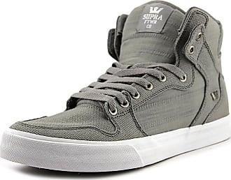 separation shoes 4052f 1b2ca Supra Mens Vaider Shoes, UK  5.5 UK, Grey White Grey