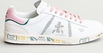 Reposi Calzature PREMIATA Sneakers in pelle bianco argento