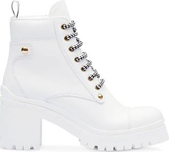 Miu Miu Ankle boot de couro - Branco