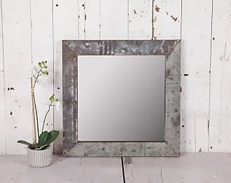 Cotswold Metal Frame Square Mirror
