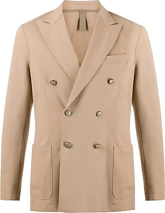Eleventy fitted double-breasted blazer - NEUTRALS