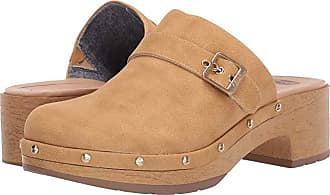Dr. Scholls Throwback Clog (Nude Smooth) Womens Clog/Mule Shoes