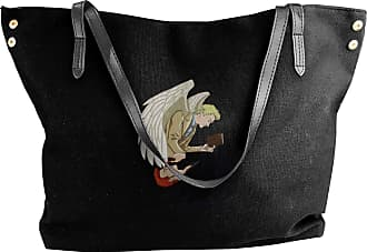 Juju Angel And Devil Humanity On Both Sides Womens Classic Shoulder Portable Big Tote Handbag Work Canvas Bags