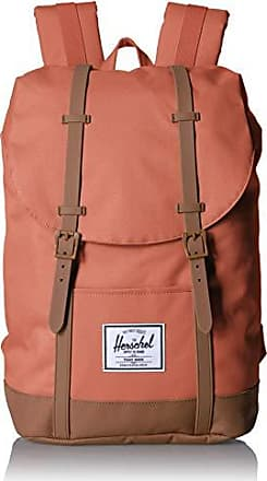 Herschel Retreat Backpack, Apricot Brandy/Saddle Brown, One Size