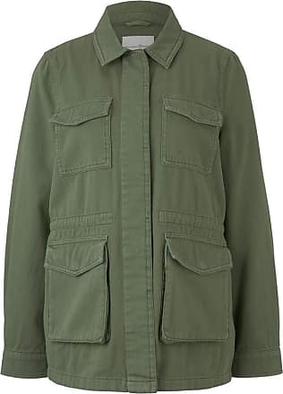Tom Tailor Denim Womens Utility Field Jacket, 21586-Dull Moss Green, S