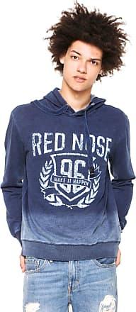 Red Nose Moletom Fechado Red Nose Comfort Azul