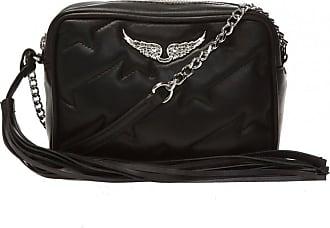 Zadig & Voltaire Leather Shoulder Bag Womens Black
