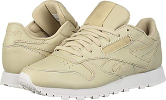 28b14d32a20 Reebok Lifestyle Classic Leather (Parchment Spirit White) Womens Classic  Shoes