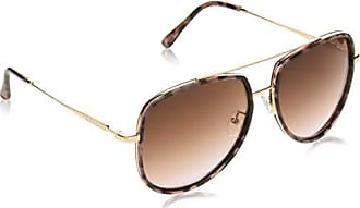 Vince Camuto Womens Vc838 Ndts Non-Polarized Iridium Aviator Sunglasses Rose Gold 60 mm