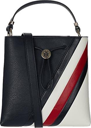 Tommy Hilfiger Damen Handtasche Canvas Shopper Tasche