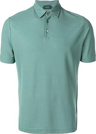 Zanone basic polo shirt - Green