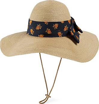 Gucci Cappello a falda larga effetto paglia