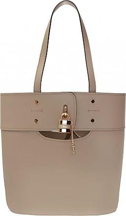 Chloé Aby Shoulder Bag Womens Beige