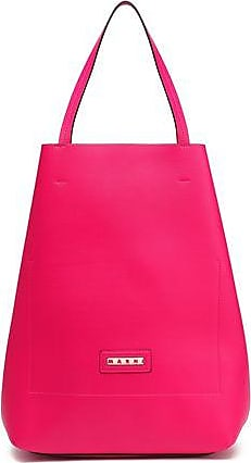 Marni Marni Woman Leather Tote Fuchsia Size
