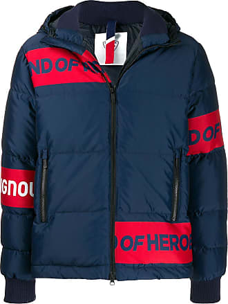 Rossignol bold stripe padded jacket - Blue