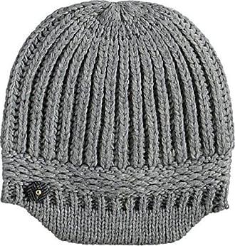 0ea0eaa60fd Bonnets En Tricot Gris   Achetez jusqu  à −60%