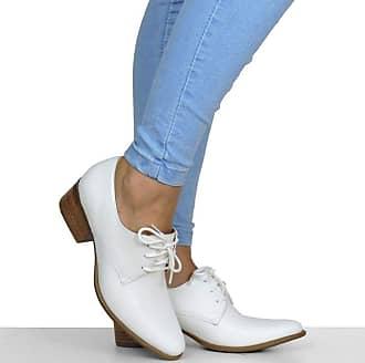 Dina Mirtz Sapato Branco Básico Dina Mirtz