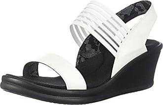 bcc075685 Skechers Cali Womens Rumblers Sci-Fi Wedge Sandal