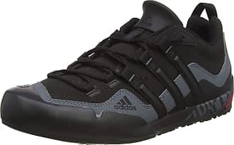adidas Originals adidas Terrex Swift Solo Unisex Adult Cross Trainers, Black (Black/Black/Lead), 7.5 UK (41 1/3 EU)