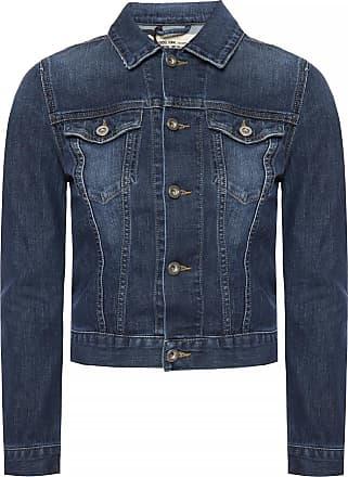 Diesel Denim Jacket Womens Navy Blue