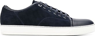Lanvin lace-up low-top sneakers - Blue