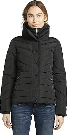 Tom Tailor Womens Winterliche Puffer Jacket, Deep Black, M