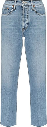 Re/Done Stovepipe high-waist jeans - Azul