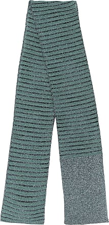 M Missoni Cachecol de tricô longo - Azul