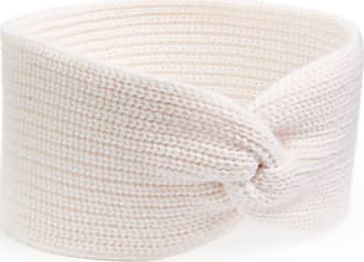 Peter Hahn Headband in 100% cashmere Peter Hahn Cashmere white