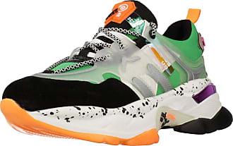 Yellow Women Women Sports Shoes GRAU LINE Green 5.5 UK