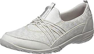 02f1f1b28e9 Skechers Empress-Wide-Awake, Zapatillas sin Cordones para Mujer, Beige  (Natural