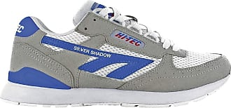 Hi-Tec Sneakers Silver Shadow Corp White/Red/Blue Size: 6