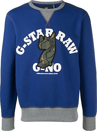 G-Star Raw Research logo sweater - Blue