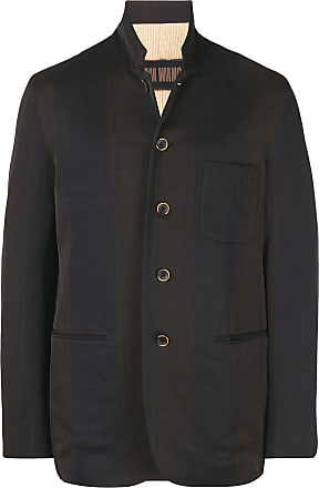 Uma Wang striped blazer - Brown