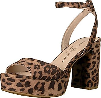 467ef367d7d Chinese Laundry Womens Theresa Heeled Sandal Natural Leopard 6.5 M US