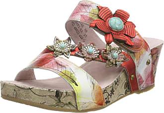 Laura Vita Womens Facdiao 06 Open Toe Sandals, (Rouge Rouge), 5 UK
