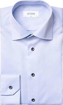 Eton Hochwertiges Oberhemd, Contemporary Fit von Eton in Hellblau für Herren