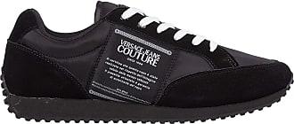 Versace Men etichetta Sneakers Nero 6 UK