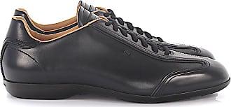 Santoni Sneaker AMG 13831 leather black