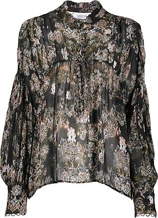 Iro Sianna tapestry print blouse - Black
