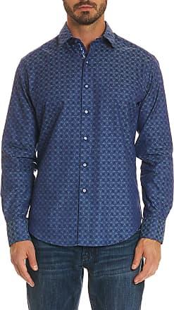 Robert Graham Mens Diamante Sport Shirt Big In Turquoise Size: 1XL Big by Robert Graham