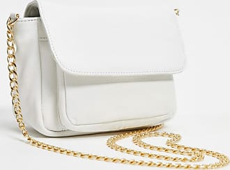 Urban Code leather cross body bag in white