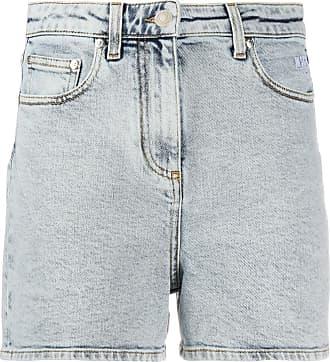 Msgm classic denim shorts - Blue