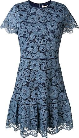 5b492ecead78d Michael Michael Kors Vestido de renda floral - Azul
