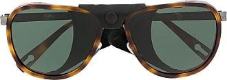Vuarnet Óculos de sol aviador Glacier XL - Marrom