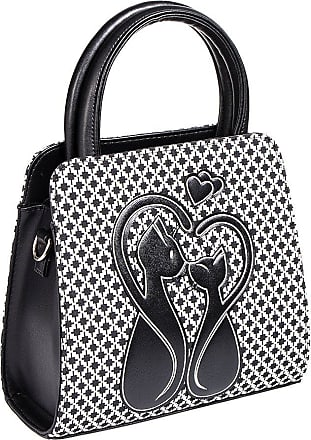 Women/'s New Moon Gothic Punk Rock Black Emo Rockabilly Bag By Banned Apparel