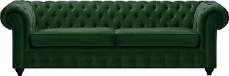 SLF24 Chesterfield Max 3 Seater Sofa-Velluto 10