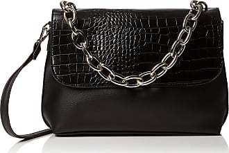 563c0e2c9316 New Look Womens Carys Chunky Chain Cross-Body Bag Black (Black)