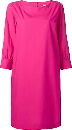 Odeeh cropped sleeve dress - Rosa